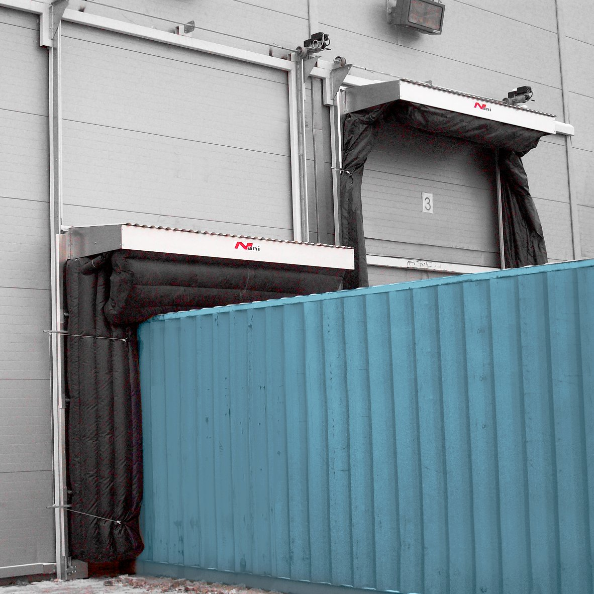Container Logistic – Dockshelter (A-TAD)