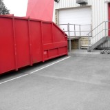 modernization of a loading station for containers
