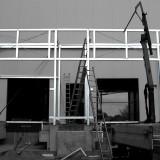 Montage Stahlvorbau