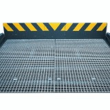 Steel-Grating with Square-Mesh