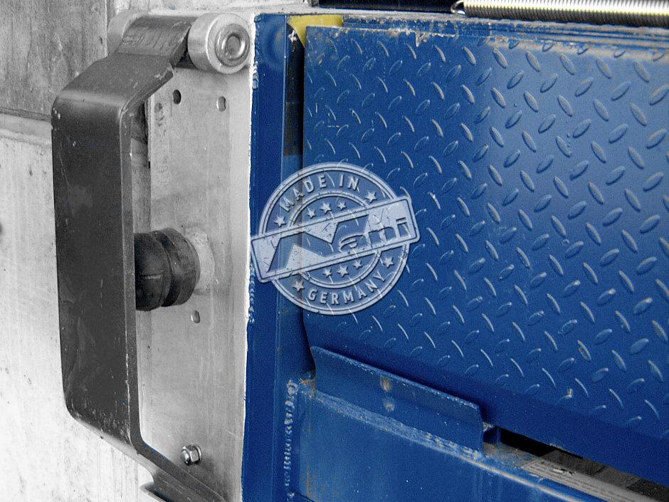 stationary Spring Steel Dock Bumper