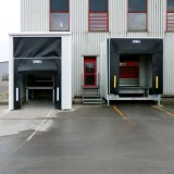 after - modernization by hydraulic loading bridges and loading locks