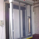 High-Speed Aluminum Door with viewing window (SLT-A)