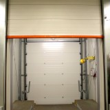 Opened Lift Gate with Vertical Running Rail (VL)