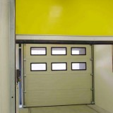 Facility Lock with High Speed Door to close to the building
