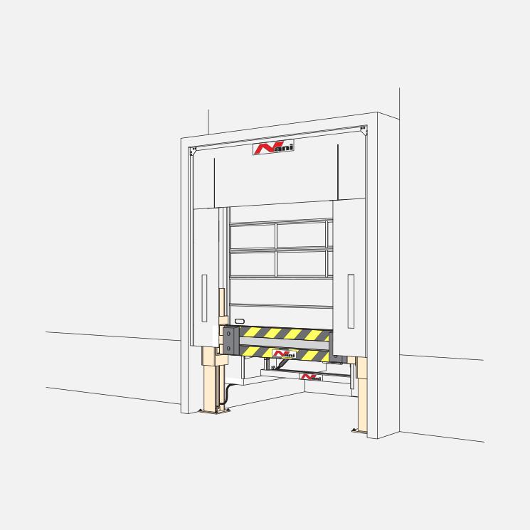 Verladetechnik – Anfahrschutz