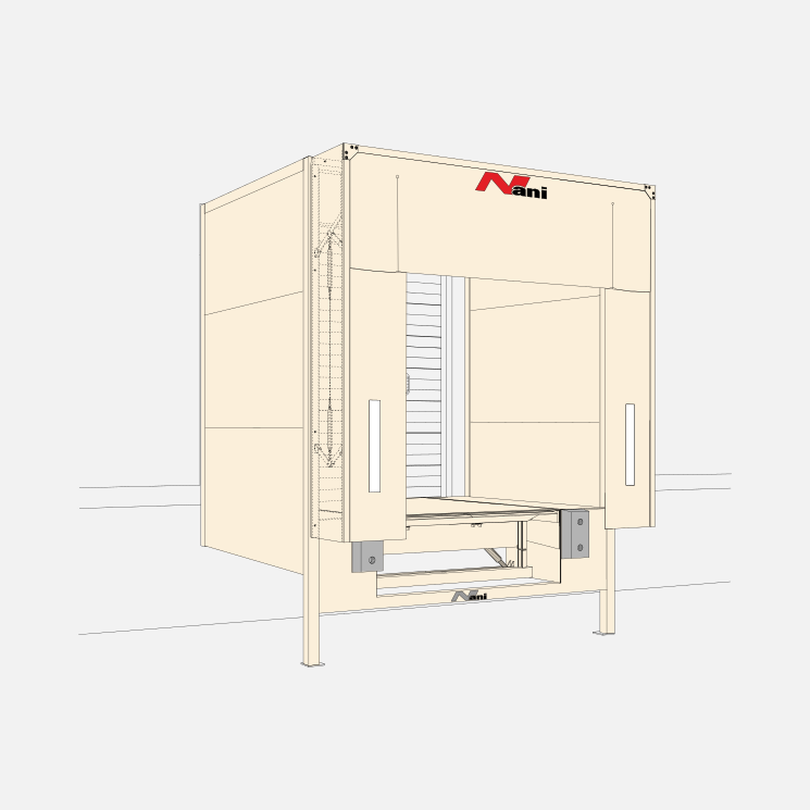 Insulated Loading House