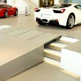 Car Showrooms – extended bridge at Ferrari