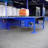 Dockleveller integrated into platform, set in front of the ramp