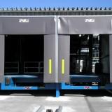 Dockleveller and Dockshelters at Loading Platform