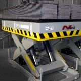 heavy load lift table HT80 [= 8000kg] gray lacquered
