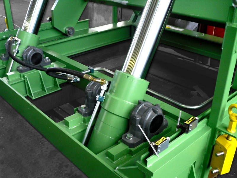 Hydraulic Cylinders from heavy load HT 250