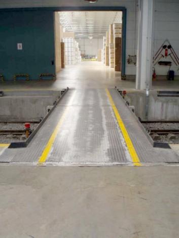 Train-Loading Bridges - swivel-fixed-hydraulic