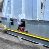 hydraulische Überfahrklappen-Mechanik