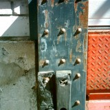 before - damaged dock bumper