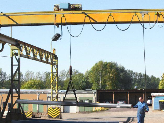 Crane runway