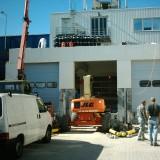 Installation of an Industrial Door