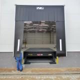 Installation of Dock Bumpers on Dock Leveller