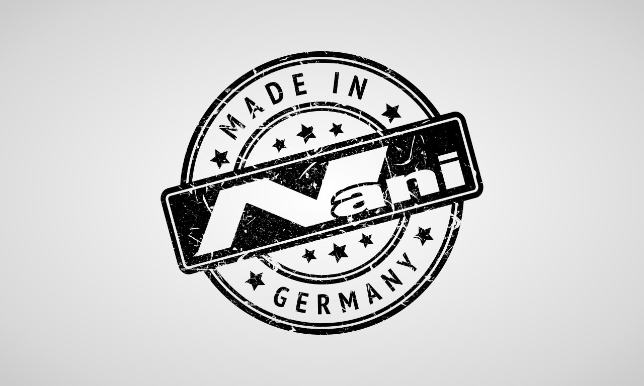 Seal of approval - Made in Germany