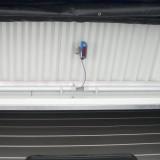 Sensor in front of sectional door