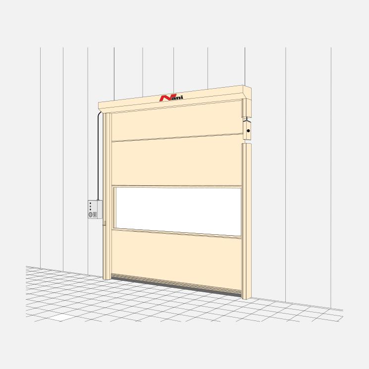 High-Speed Steel Door (SLT)