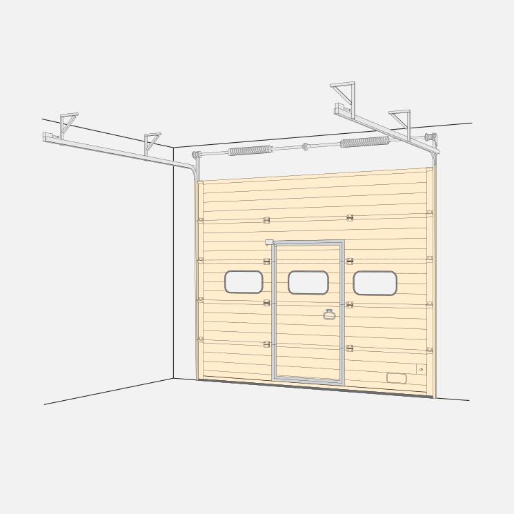 Standard Sectional Door (SL)