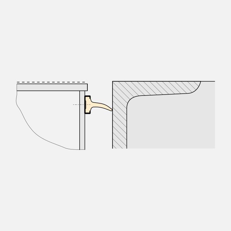 Slit-sealing of a dockleveller