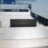 Seitlich-Verschiebbare-Aluminiumbrücke (SV-A) – Klappe oben
