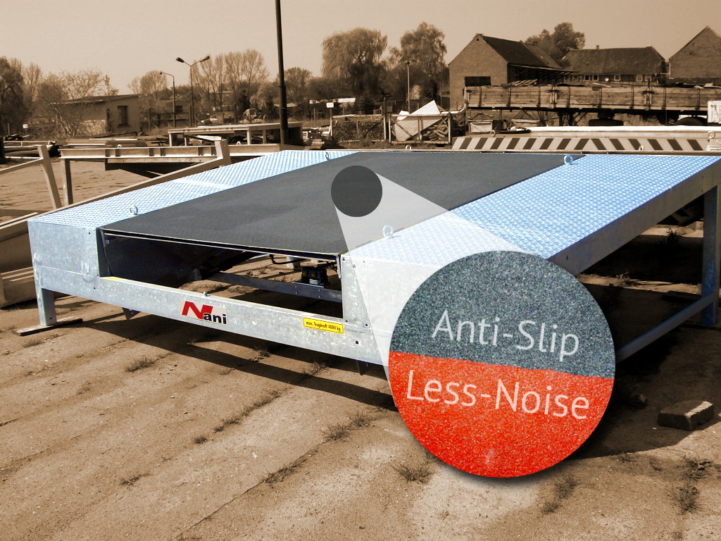 Sheet Metal Coarting – Anti-Slip and Less-Noise